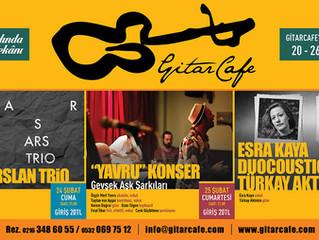 GitarCafe'de bu haftanın programı: 20-26 Şubat