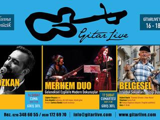 GitarLive'da bu hafta: 16-18 Şubat