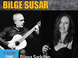 Basçı gitarda, cazcı dünya şarkılarında; Kamil Erdem & Bilge Susar karşınızda