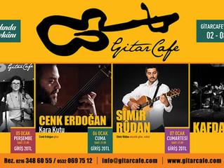 GitarCafe'de bu haftanın programı: 02-08 Ocak