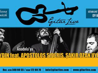 GitarLive'dan Anadolu'ya yolculuk