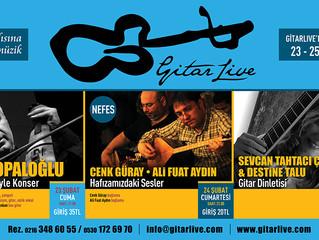 GitarLive'da bu hafta: 23-25 Şubat
