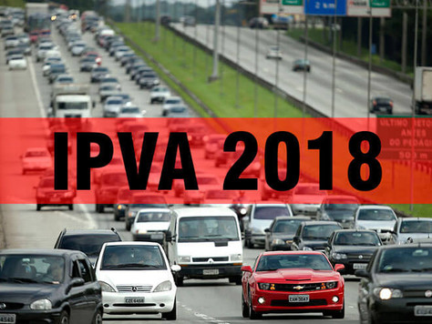 Mudanças no IPVA 2018