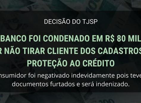 Banco paga multa de R$ 80 mil reais por descumprir ordem judicial