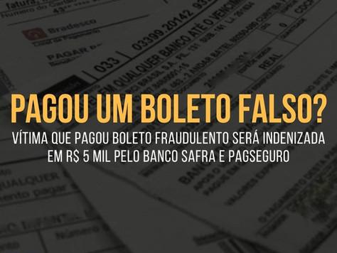 BOLETO FALSO: VÍTIMA DE GOLPE que pagou BOLETO FRAUDULENTO será INDENIZADA!
