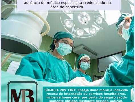 Plano de saúde é condenado por não indicar médico especialista