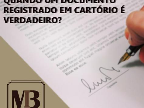 Como verificar a autenticidade de documentos emitidos por cartórios?