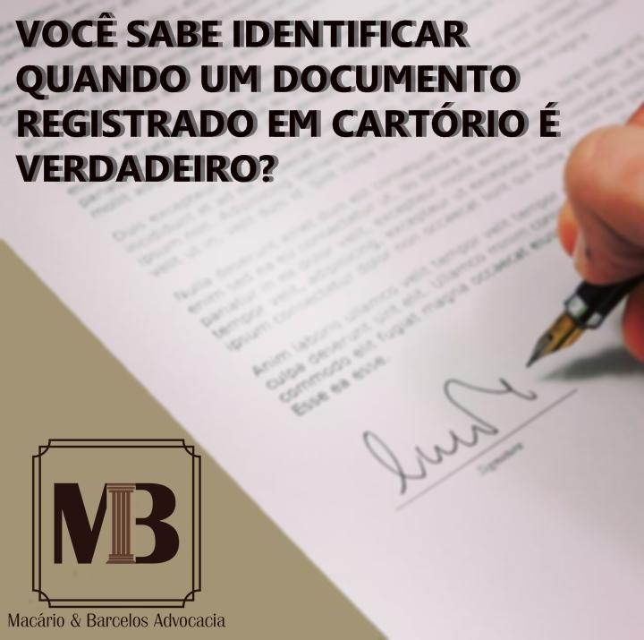 Saiba como verificar a autenticidade de documentos emitidos por cartórios