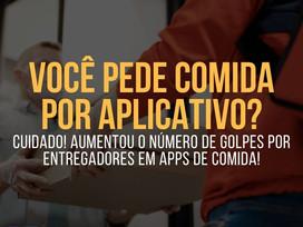 GOLPES aplicados por ENTREGADORES de APLICATIVOS de COMIDA!