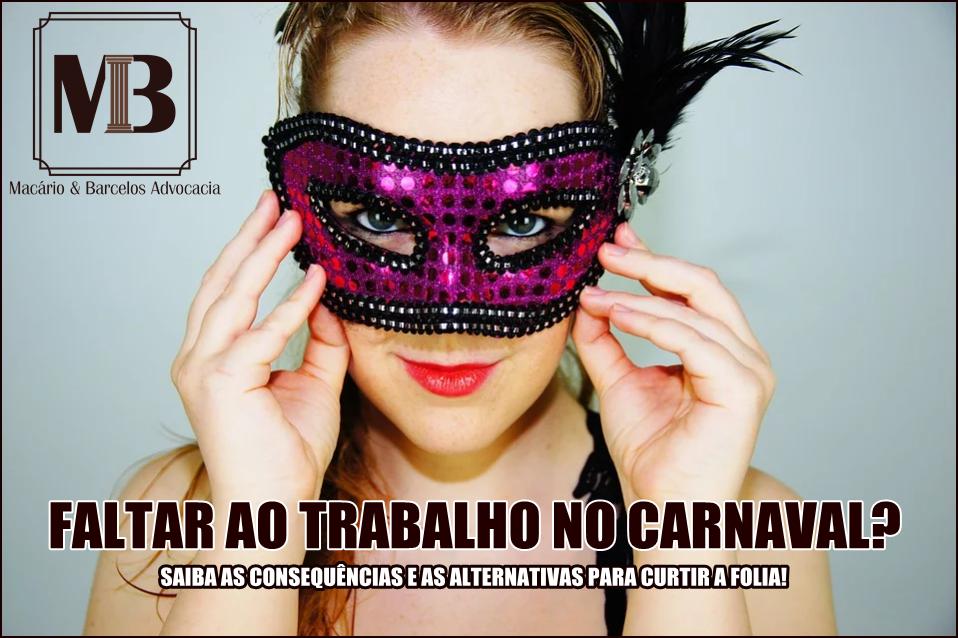Carnaval não é feriado ou não?