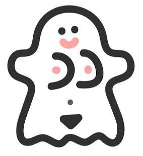 ghost transparent