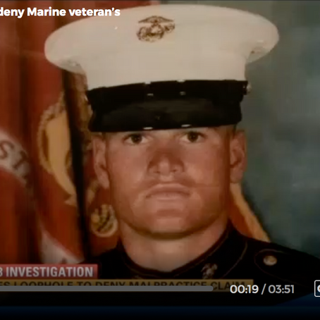 Marine Corp Veteran Seeks Help After Misdiagnosis