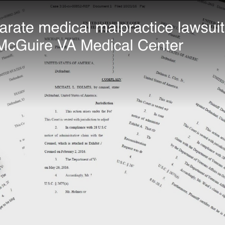 Five Military Veterans Injured by Richmond VA Hospital: McGuire VAMC