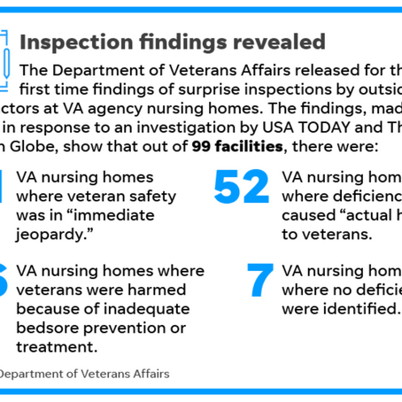 "VA Nursing Homes Put Veterans in ""Immediate Jeopardy"""