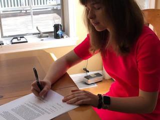 Katrina Signs with the Brogan Agency
