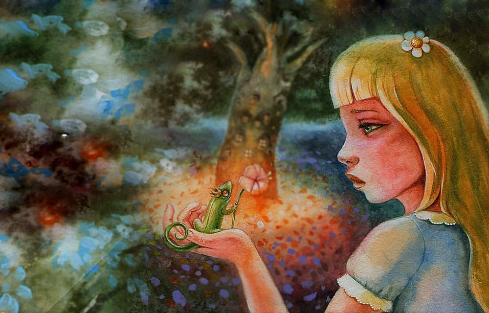 Character Clara Kingdom of the Lizards Katrina Kusa Book Author