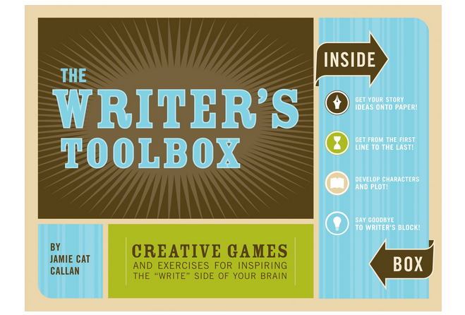 Writers Toolbox Writing Gift for Authors from Katrina Kusa