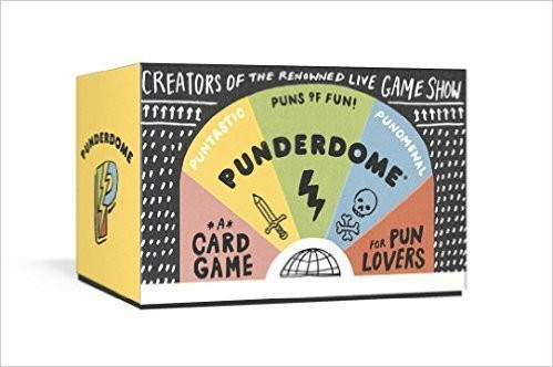 Punderdome Game for Book Lovers Holiday Gifts from Katrina Kusa