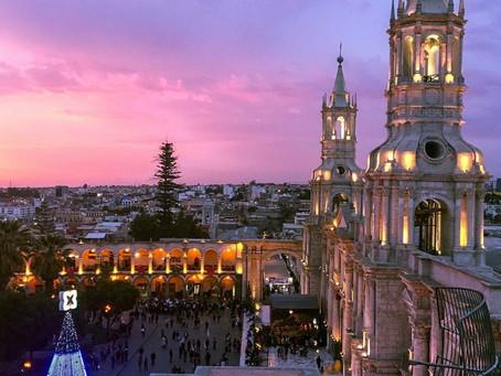 """Arequipa: """"No en vano se nace al pie de un volcán"""""""