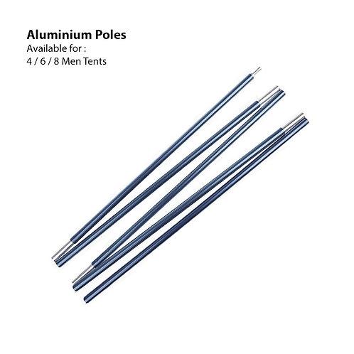 Aluminium Poles 4 Men ( Dome Tent )