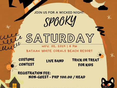 Spooky Saturday - A Special Halloween Party