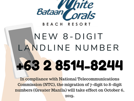 New 8-Digit Landline Number