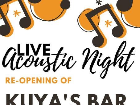 Kuya's Bar Re-opening!