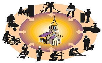 Prediking Joshi van Veen omzien naar elk
