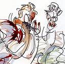 reportage dessiné chez le corps sauvage gilles coullet