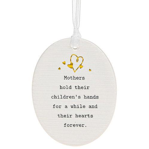 Mothers Ceramic Plaque