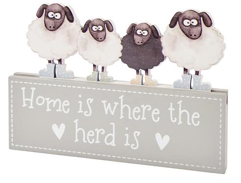Sheep Family Block