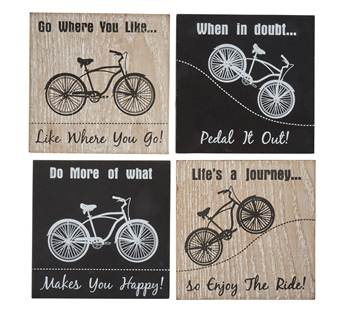 Bike Coasters - Set of 4