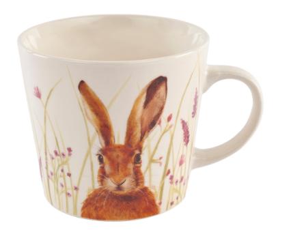 Floral Hare Mug