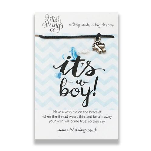 Wishstrings Bracelet - It's A Boy