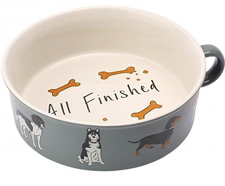 Paws For Thoughts Dog Bowl