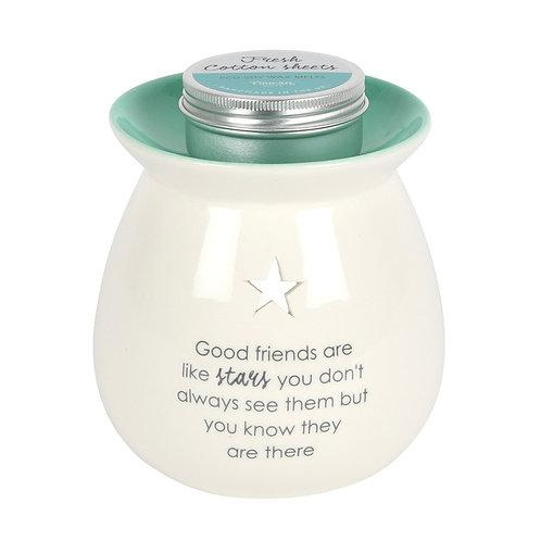 Good Friends Wax Melt Burner Gift Set
