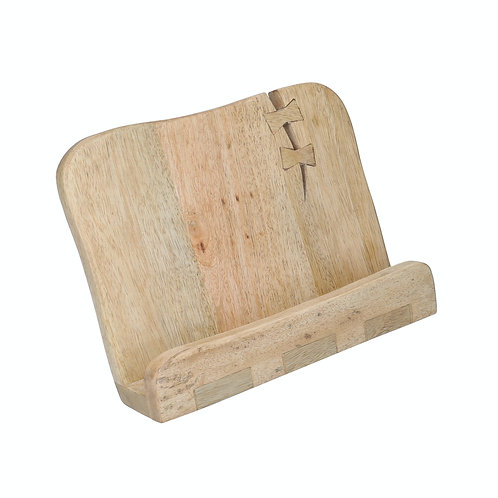 Mango Wood Cook Book & Tablet Stand