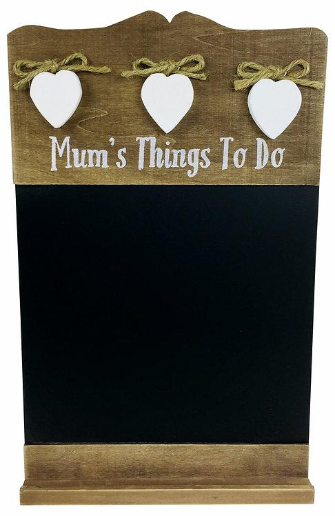 Mum's Things To Do Chalkboard