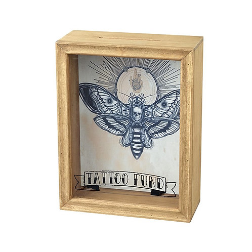 Tattoo Money Savings Box