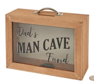 Dad's Man Cave Fund Box