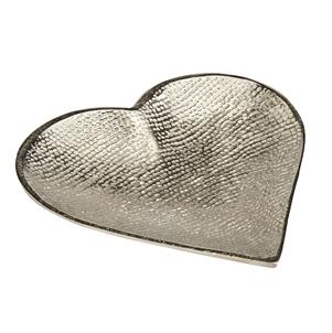 Large Aluminium Heart Dish