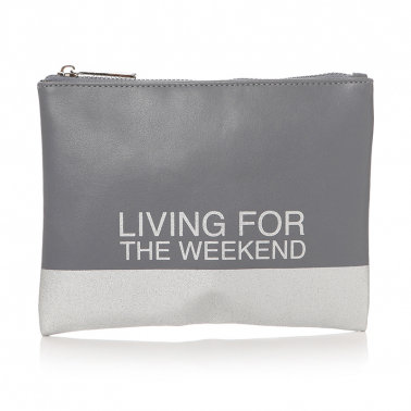 Living For The Weekend Pouch