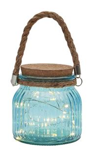 Glass Fairy Light Jar - 2 colour options