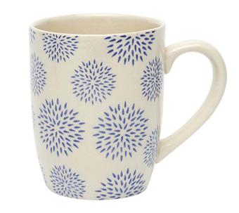 Blue Dahlia Mug