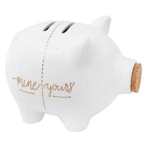 Mine & Yours Piggy Bank