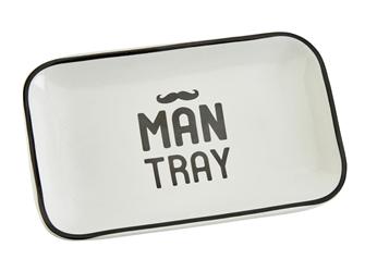 Ceramic Man Tray