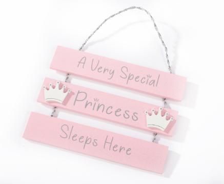 Princess Triple Plaque