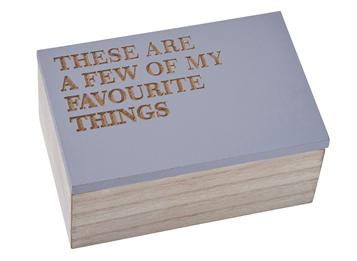 Favourite Things Box