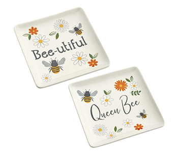 Busy Bees Trinket Dish - 2 options