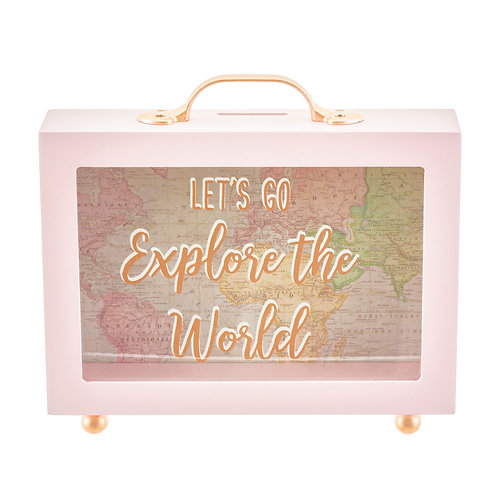 World Explorer Money Box